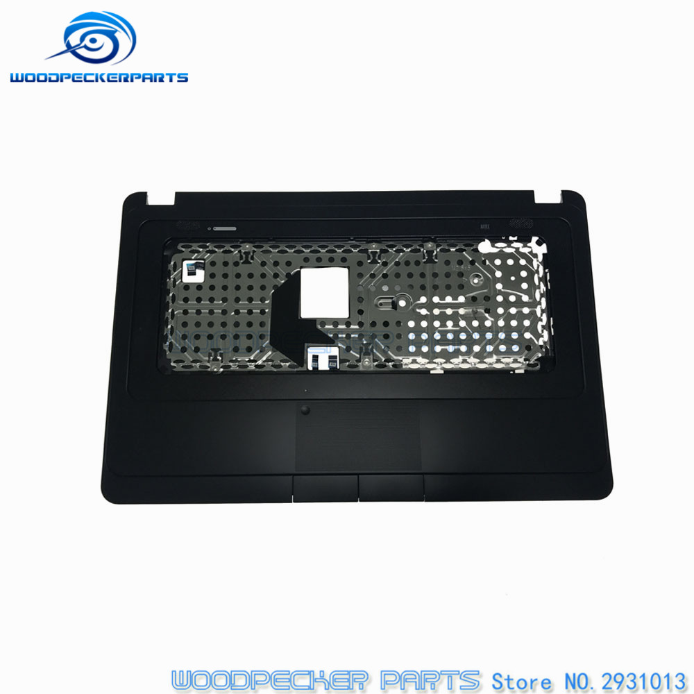 Original NEW Laptop Palmrest TOP Cover For HP 630 635 CQ57 Palmrest & Touchpad C Shell 646136-001 original new laptop palmrest for acer for aspihe es1 es1 512 top cover c cover shell