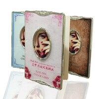 Professional 84 Colors Acrylic Nail Gel Polish Display Card Book Color Board Chart Pink Blue Brown
