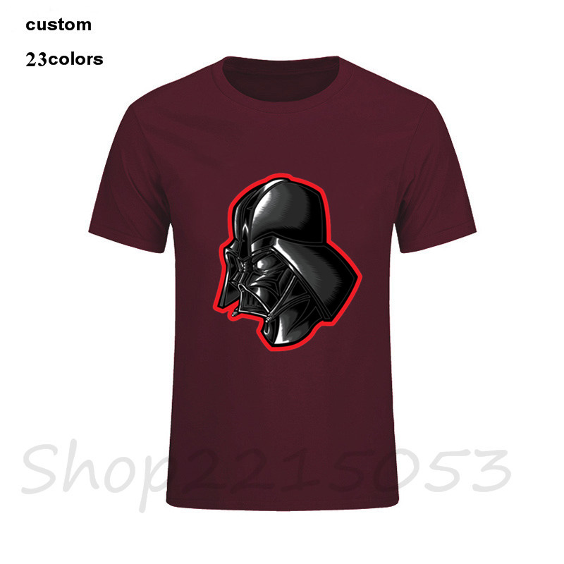 2018 New Mens T shirt Star Wars Welcome to Tatooine Male Fashion T-Shirt clothing cotton Casual College Darth Vader game Tshirt