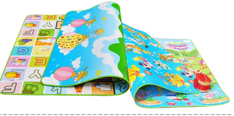 Tapete Infantil Baby Crawling Mat 2m1.6m0.5CM Both Sides Baby Toy Eva Play Mat Carpet Child Game Pad Mats For Children  (3)