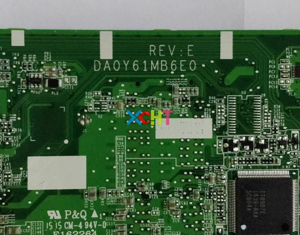 For HP Pavilion 13 A Series X360 767820 501 767820 001 UMA I5 4210U DA0Y61MB6E0 Motherboard Mainboard Tested