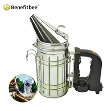 Benefitbee Bee Smoker Electric Beekeeping Smoke For hive Beekeeper Tools Stainless Steel Durable Material