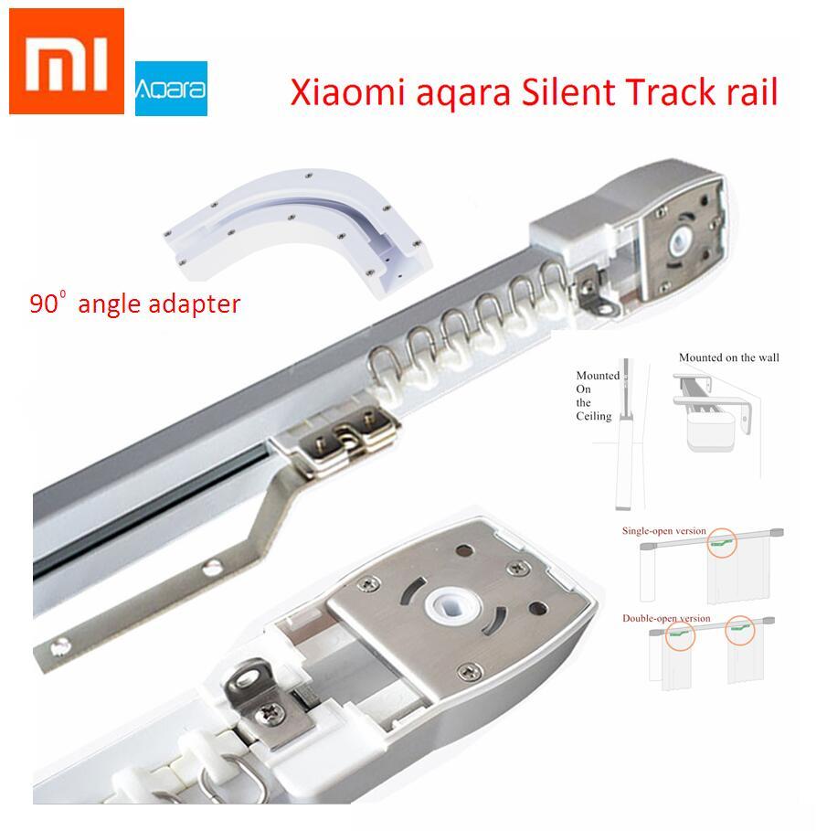 Original Electric CurtaFor Xiaomi Mijia Aqara Motor Automatic Curtain Rail System Smart Home Super Quite Silent Angle Optional