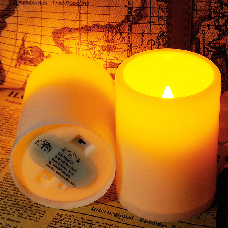 Wedding Decoration Electric Candle Plastic Led Candles Light Warm White For Holiday Christmas Home Bedroom Desk Table Lamp Decor цена