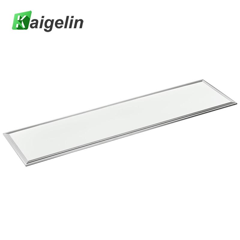 2 PCS Kaigelin Carré LED Panneau Lumineux 1200x300 42 W SMD2835 LED Plafond Panneau Lumineux Bureau AC100-240V Industrielle plafond Lampe