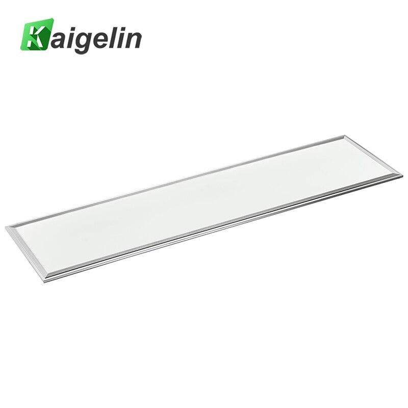 2 STÜCKE Kaigelin Quadratischen LED-Panel Licht 1200x300 42 Watt SMD2835 LED Deckenplatte Licht Büro AC100-240V Industrie Deckenleuchte