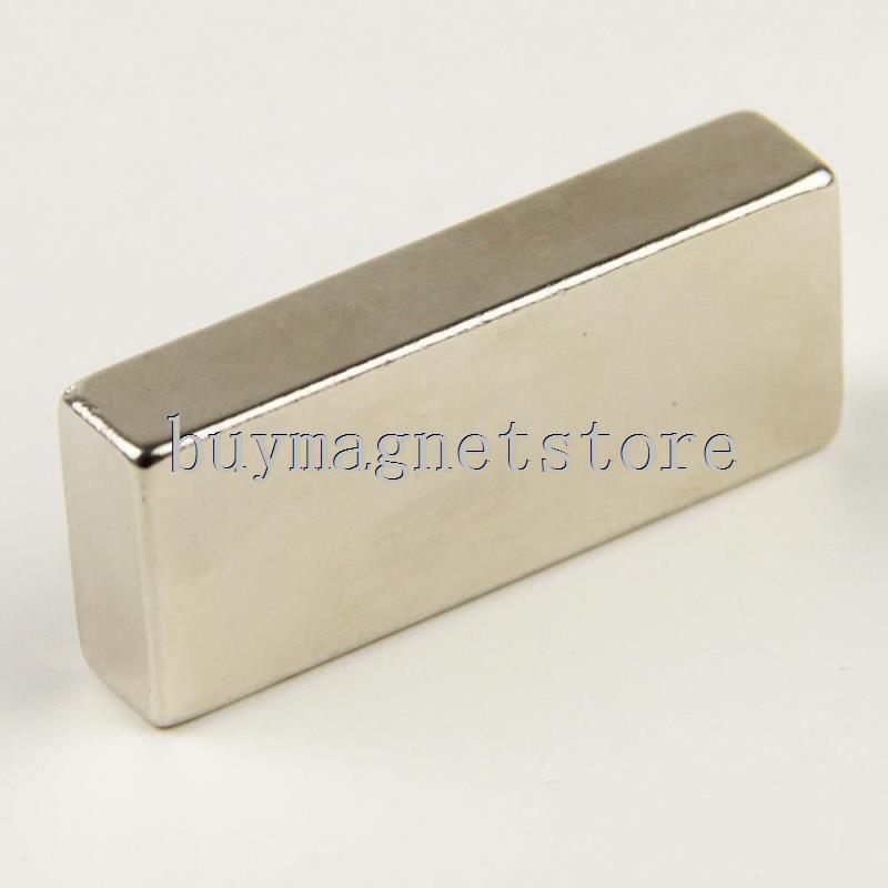 1 x Big Schütt Super Strong Block Magnete Rare Earth Neodym 50x20x10mm N35 ndfeb Neodym neodimio imanes