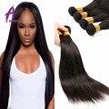 Cheap Malaysian Straight Hair 4 Bundles Virgin Human Hair ExtensionsMalaysian Virgin Hair Straight 4 Bundles Mink Hair Products