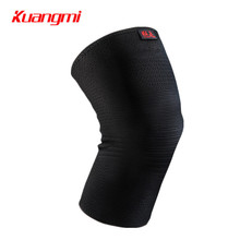 Kuangmi 1 Piece Knee Compression Sleeve Support Sports Knee Protector Fitness Running Cycling Knee Pad Brace For Injury Recovery