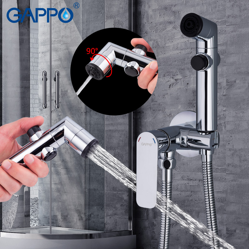 GAPPO Bidets muslim shower bidet faucet bidet toilet sprayer enema shower head wall mount bidet tap mixer-in Bidets from Home Improvement    2