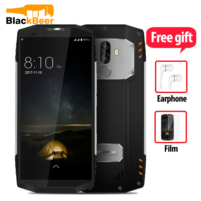 BLACKVIEW BV9000 PRO Mobile Phone IP68 Waterproof Tough Durable Smartphone 18:9 Android 7.1 Mobile Phone 6G+128G NFC CellPhone-in Cellphones from Cellphones & Telecommunications