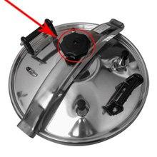 1 шт. ручка для кухонной плиты Кнопка Съемный прочный винт Антикоррозийная спиральная Кнопка кухонные запасные части для посуды аксессуары