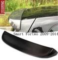 Углеродное волокно/ABS CRA задний крыло багажник выступ Спойлеры подходят для 09-14 Smart Fortwo 2009 2010 2011 2012 2013 2014