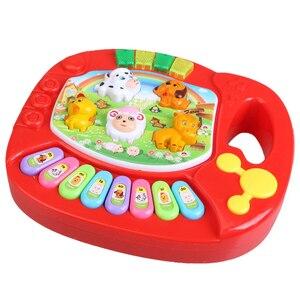 Image 4 - Capretti del bambino Musicale Educativi Pianoforte Fattoria Degli Animali Developmental giocattoli educativi Giocattolo di Musica giocattolo PER BAMBINI