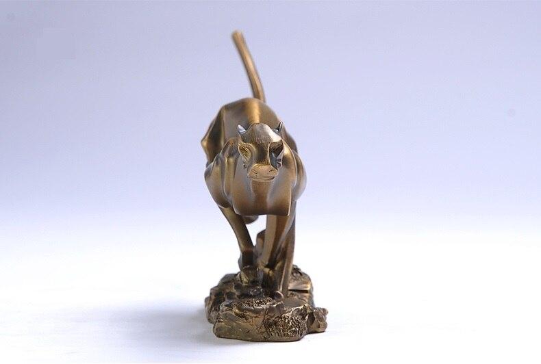 حديث تجريدي الفهد الفهد تمثال النحت بوليريسين هدية زخرفة الحرف اليدوية الاكسسوارات للأعمال و غرفة الديكور-في التماثيل والمنحوتات من المنزل والحديقة على  مجموعة 3