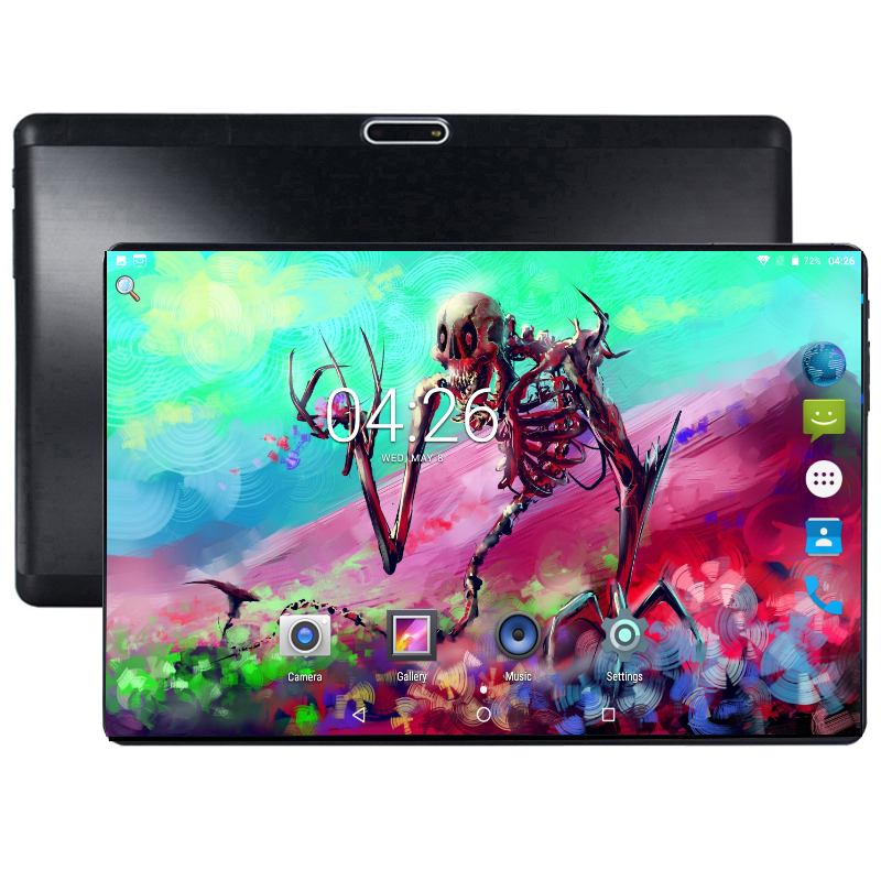 2.5D Curved Screen 3G 4G LTE DHL Free Shipping 10 Inch Tablet PC Octa Core 4GB RAM 64GB ROM Android 8.0 GPS Wifi Tablets 10 10.1