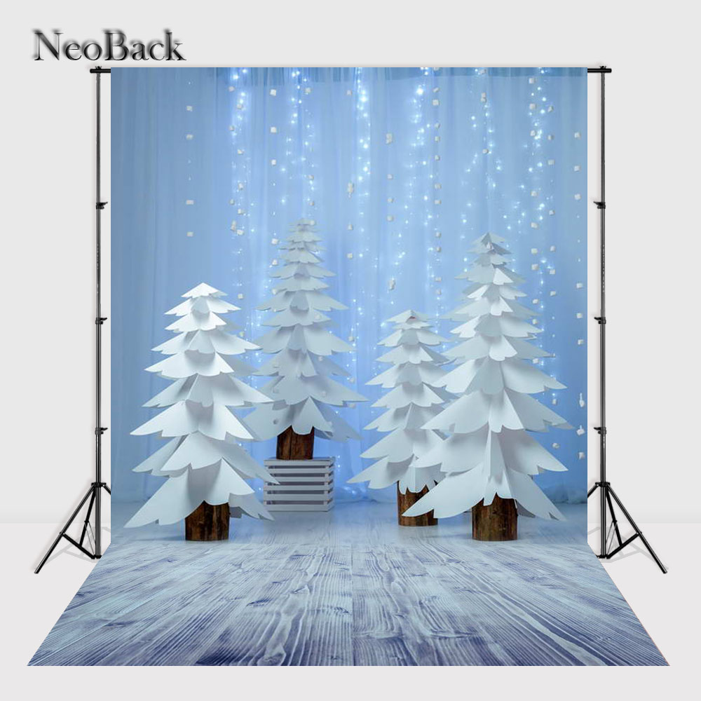 NeoBack    New 5X7ft  baby Christmas gifts backdrop  Printed vinyl fireplace photography background photo studio A1137 allenjoy christmas backdrop tree gift chandelier fireplace cute professional background backdrop for photo studio
