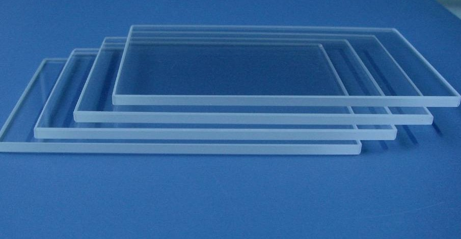 docan M6 M8 uv quartz glass for 230mm uv lamp 150x650mm 4mm thickness uv quartz glass for uv lamp
