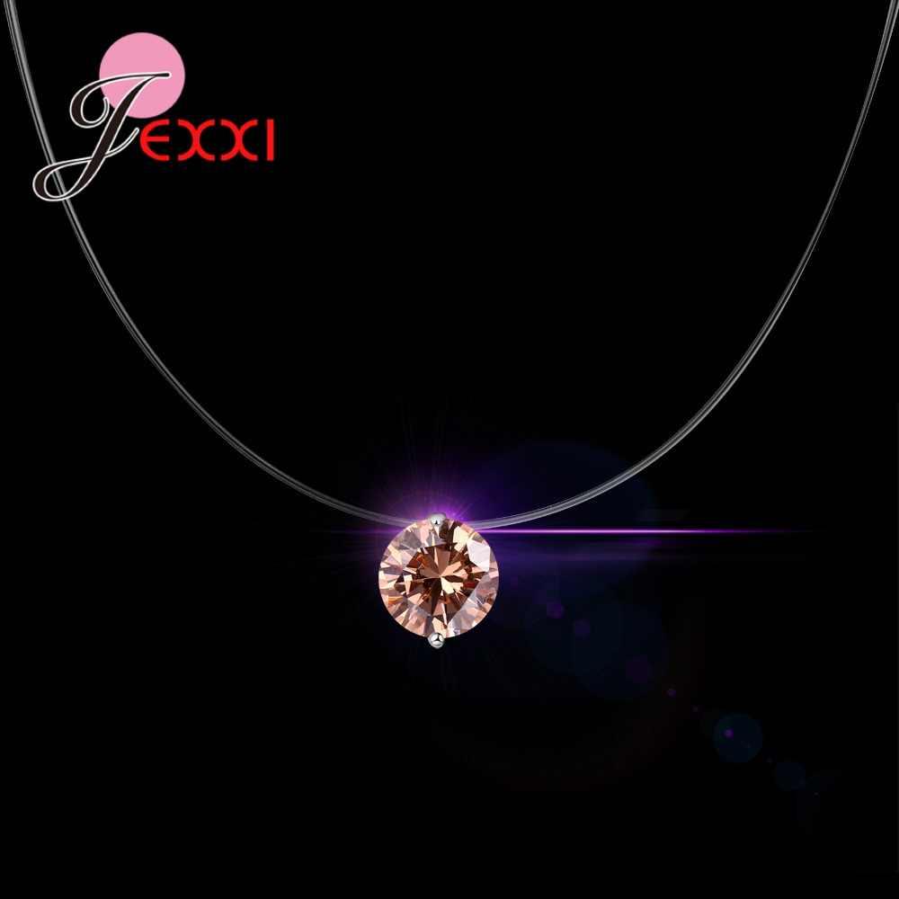 Dolce Romantico Regalo di San Valentino Collana Moderna 925 Sterling Silver Cubic Zirconia Donne Bel Regalo Gioielli Appuntamento