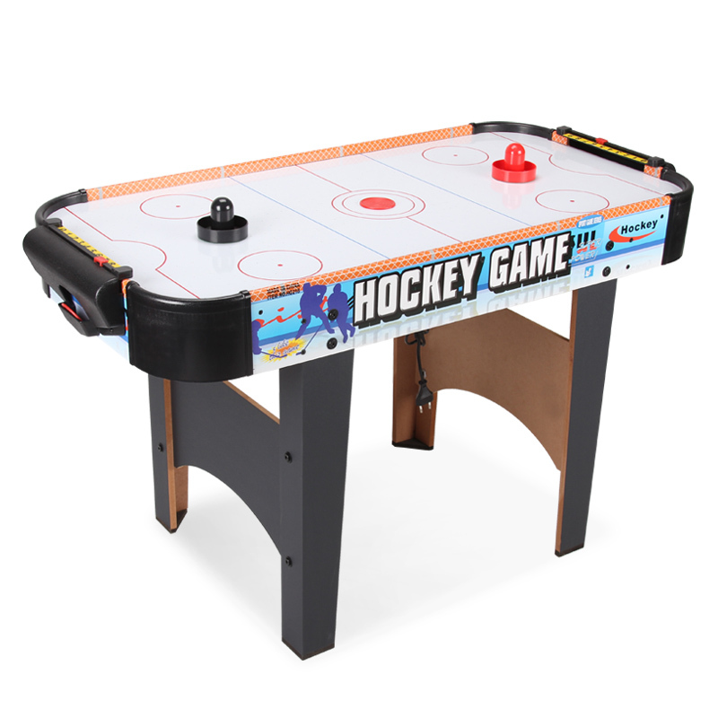 40 Inch air hockey table hockey tables children play ice hockey table indoor hockey table with electrical air powered motor hockey moms