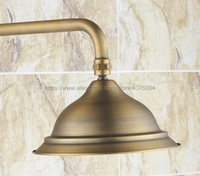 8.2 Inch Antique Brass Shower Head Water Rains Shower Head With Shower Bathroom Shower Head Nsh047