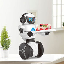 Hot sales remote control robot intelligent smart dancing rc robot Compatible with mip electronic toys Robot dog interactive pet(China)