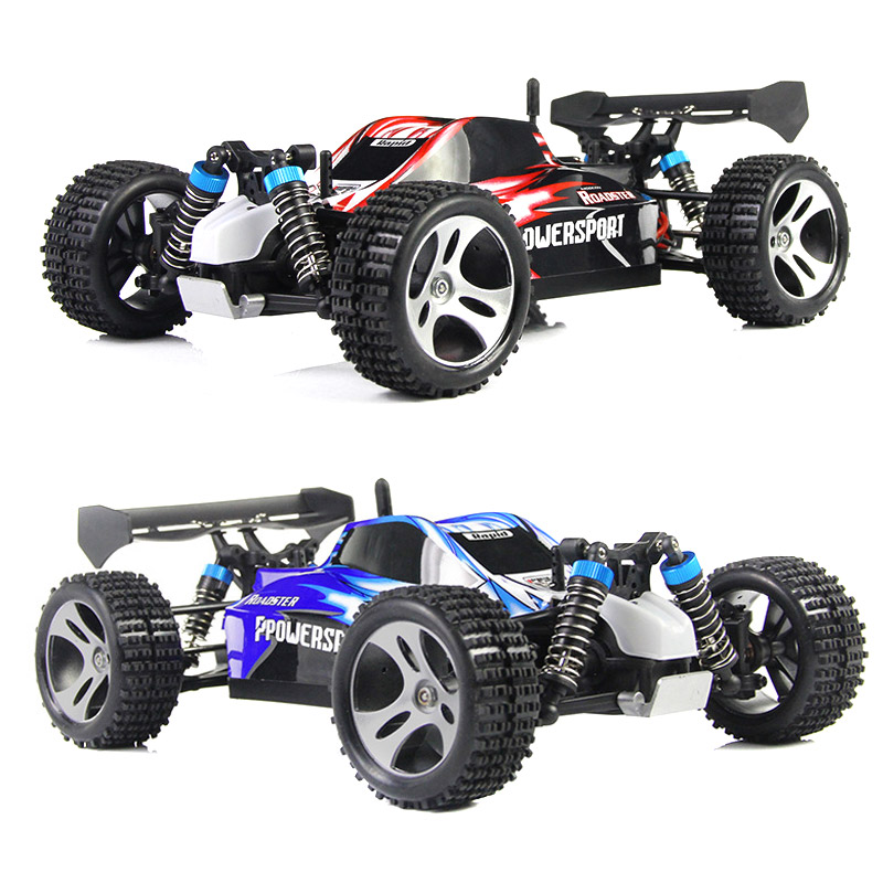 RC Car 2.4G 1/18 Scale Remote Control Model 4WD Off-Road RC Buggy For Wltoys A959 Vehicle Toys Children Birthday Gifts @ NSV775 rc car 2 4g 1 18 scale 4wd remote control model high speed off road rc buggy for wltoys a979 vehicle toys children gifts m09