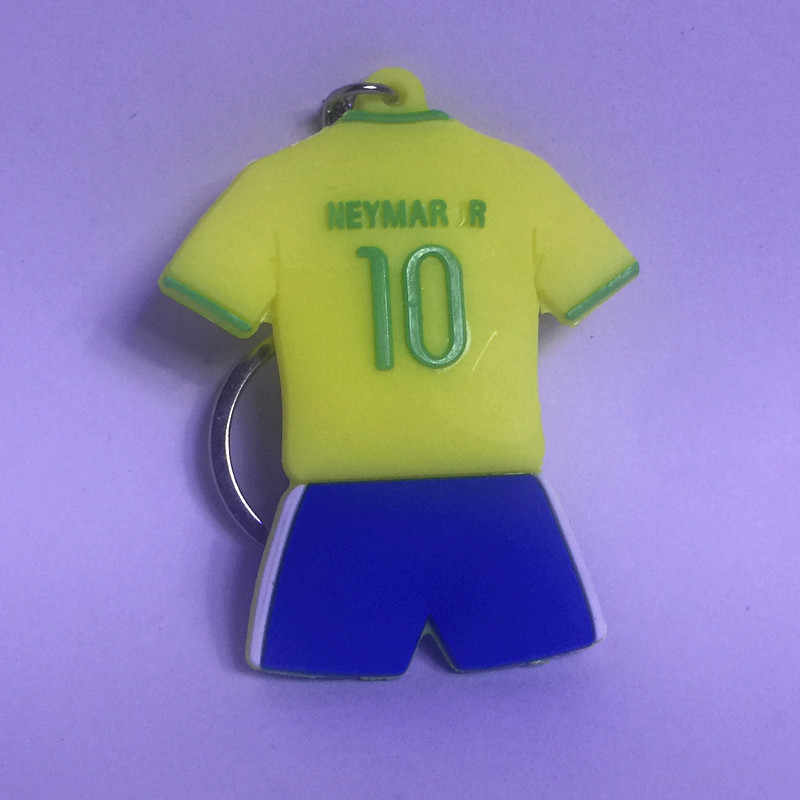 the latest 65cb0 95b20 Soccerwe Soccer Star 10 Neymar J R Brasil Jersey Shape Figure for 2018  Soccer Cup Gift Collections Yellow