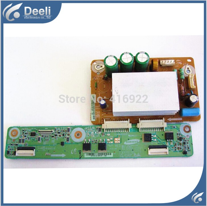 95% new original for LJ41-06613A LJ92-01668A +LJ41-06615A LJ92-01672A X board screen S42AX-YB08 FOR PLASMA PN42B430P2D 2pcs/set original ps64d8000fj y board s63fh yb06 screen lj41 09453a lj92 01789a page 5
