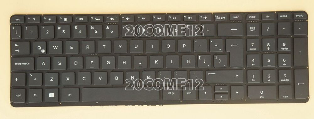 New For HP ENVY 15-k049la 15-k050la 15-k101la Keyboard Spanish Teclado Backlit