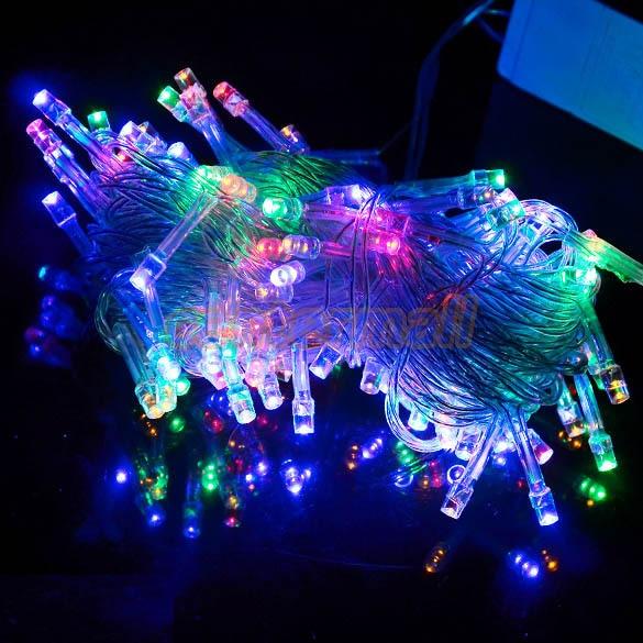 10m guirlande lumineuse exterieur 100 fairy xmas tree for Decoration exterieur led