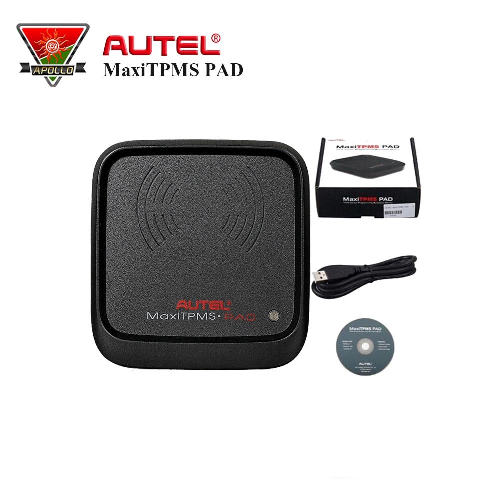 2017 Newest Autel MaxiTPMS PAD TPMS Sensor Programming Accessory Device and Autel MX-Sensor 433MHz/315MHZ Universal Programmable цена