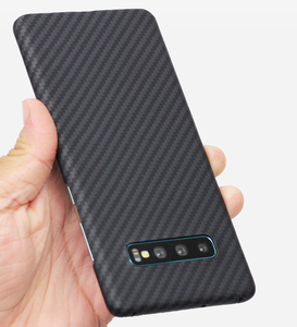 Image 4 - ENMOV Ultra דק 100% אמיתי סיבי פחמן מקרה לסמסונג גלקסי S10 S10Plus S9 S9 בתוספת עסקים מט יוקרה כיסוי עבור Note9