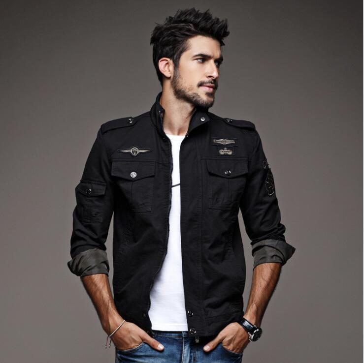 Tailleur Amour Automne Veste Hommes Coupe-Vent Réfléchissant Bomber - Vêtements pour hommes - Photo 4