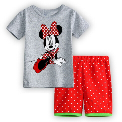 Children s Pajamas Summer Short-sleeved Kids Pyjamas Boys Girls Pijamas Baby  Sleepers Sleepwear 0258c116b
