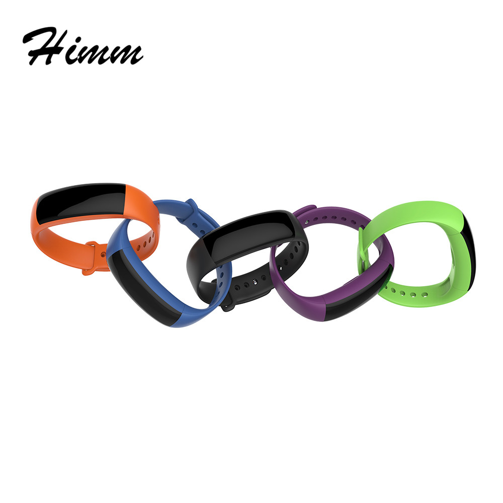 himm NEW DM88 IP67 Smart sports bracelet Wristband 0 86 inch OLED Touch screen BT4 0