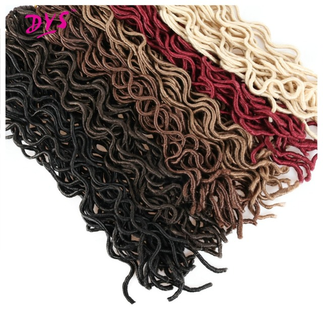 Deyngs 18inch Long Synthetic Crochet Braids Hair Extension Natural