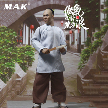 1/6 Full Set Collectible IFT-023 A Master Of Kung Fu Jet Li Wong Fei-hung Normal Version Action Figure for Fans Collection Gifts