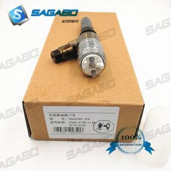 Бесплатная доставка 1 шт. новый топливный инжектор 326-4700, 3264700 для 320D экскаватора Сделано в Китае