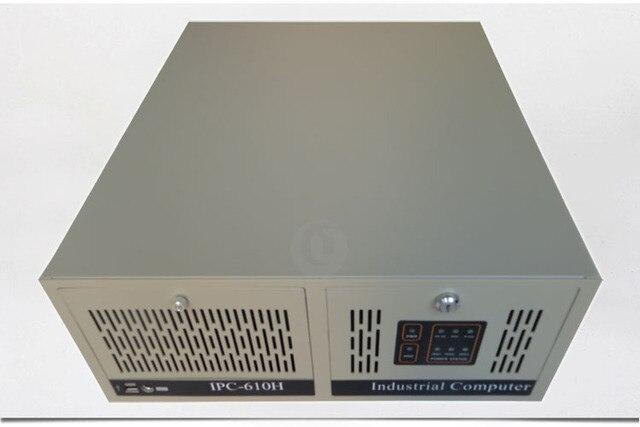 4U4508E промышленного шасси Сервер Белый Компьютерный корпус толщиной 1.2 мм 7-слот заднего стекла
