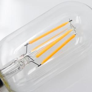 Image 4 - YNL Lampada בציר LED אדיסון הנורה E27 E14 220V 2W 4W 6W 8W Bombillas ST64 g80 LED מנורת עתיק רטרו זכוכית נימה אור הנורה