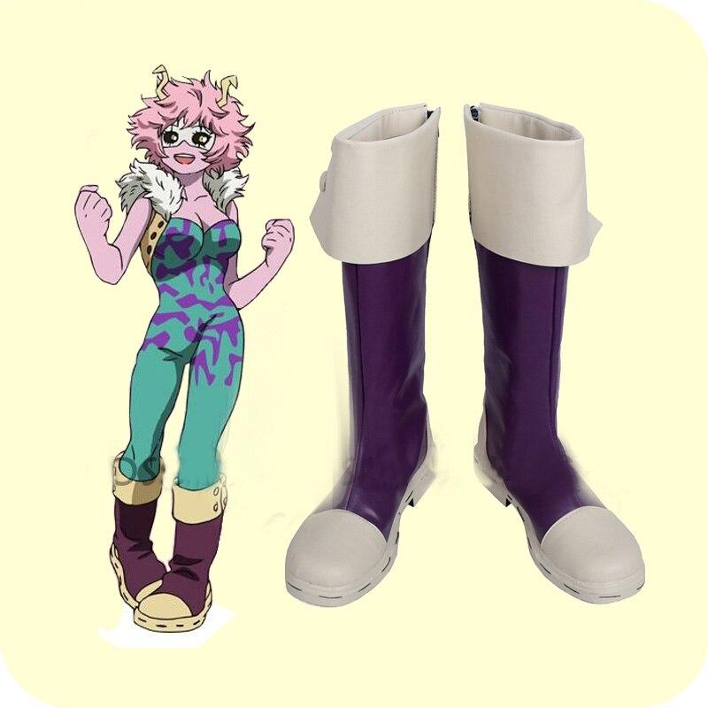 My Hero Academia Boku no Hero Akademia Mina Ashido Cosplay Shoes Boots Women s Halloween Carnival