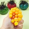 1 Unids Nueva Lindo Anti Uva Bola Antiestrés Relevista Socorro Squeeze Juguete Sano Humor Divertido Del Autismo Geek Gadget de Ventilación juguete
