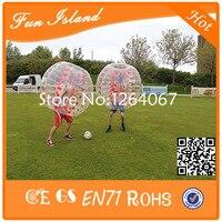 Диаметр 1,2 м пузырьковый мяч, детский футбольный мяч, размера, человеческий бампер мяч