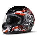 Уличный мотоциклетный шлем для мужчин и женщин  сертифицированный в горошек  мотоциклетный шлем для круизов  спортивный уличный велосипед