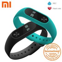 Original Xiaomi Mi Band 2 Smart Wristband Heart Rate Monitor Xiaomi Band 2 Smart Bracelet Mi