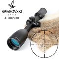 Imitatie Swarovskl 4-20x56 SFIR RifleScopes Mil Dot Glas F40-1 Crosshairs Jacht Richtkijkers