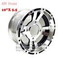 "ATV 10inch Front Wheel Aluminum Alloy Rims 10""x 5.5 Quad Chinese Off-Road 4 wheel Motorcycle Motocross"