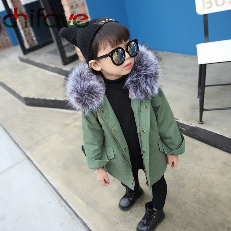 chifave-New-Winter-Children-Warm-Cotton-Coat-Suit-for-Unisex-Kids-Hooded-Fur-Collar-Zipper-Thick-Outerwear-Baby-Boys-Girls-Parka-4