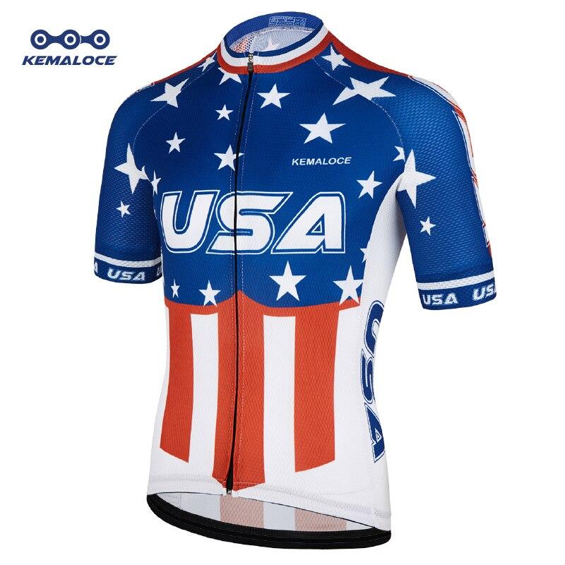 USA Navy International Men Cycles Jersey New American Sport Dirt Outdoor Bike Uniform Short Sleeve Pro